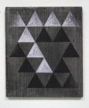 ´DER GARTEN, die Belagerung II`, 0202013, pigments, acrylic on canvas 41,3 x 35,5 cm