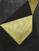 Malerei, ´Für Munch` acrylic, eggtempera, pigments on canvas, 60 x 45_2008_R 16