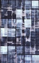 L´espace libre V, 2002, crylic,pigments, linocolor,canvas,180x110 cm