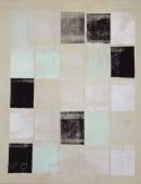 L`Espace Libre III-1, 2001pigments, linoCOLOR, 45 x 35 cm
