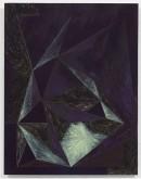 Lob des Raumes II, 2010, acrylic, pigments on cotton on dibond, 45 cm x 35 cm
