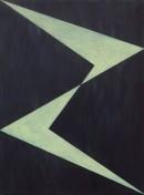 Luzifer, 2008, acrylic, pigments on cotton, 60 x 45