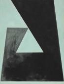 Saltus IV, 2009, acrylic, oil, pigments on canvas,60 x 45