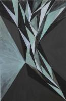 Saltus IX, 2009, acrylic, pigments on canvas, 190 x 125_2009