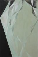 Saltus X, 2009, acrylic, pigments on canvas, 190 x 125_2009