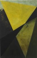 Schneeland (Kawabata), 2005-2009, acrylic, pigments on cotton,70 x 45