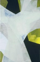 Schneeland I, (Kawabata), acrylic, pigments, canvas,70 x 45 cm, 2005