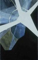Schneeland II,Kawabata,acrylic, pigements, canvas,70x45, 2005