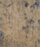 Vom Gefuehl der Welt, les triangles, 2017, pigments, acrylic on linen, 200 x 170 cm,