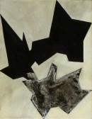 Wegwarte I, 2007, Eitempera Acryl auf Nessel, 45 cm x 35 cm Kopie
