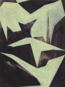 Wegwarte III, 2007, acrylic, pigments on canvas, 60 cm x 45 cm_2007