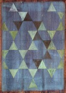 ´Melody of Structures IV` 2011, eggtempera, pigments, pencil on paper, 20,5 cm x 21,5 cm