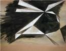 GoldenHeart 5-2, Acryl-Tusche-Kuli, Papier, 29,7x21, 10-2010