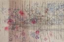 Portvine LBV (Niepoort) paperwork, Charles Dickens Museum, ´omnibus, bleu I `, re- sketsches for boz, 2011, pencil, on paper