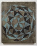 open heart (tokonoma) 2012, acrylic, pigments on canvas, 41 cm x 34,5 cm
