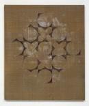 ´HIMMELSRICHTUNGEN III, Thankgas`, 2014 , pigments, acrylic, canvas, 68 x 57,5 cm