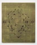 ´HIMMELSRICHTUNGEN IX`, 2014 , pigments, acrylic, canvas, 68 x 57,5 cm