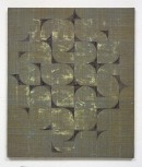 ´HIMMELSRICHTUNGEN V, Wege`, 2014 , pigments, acrylic, canvas, 68 x 57,5 cm