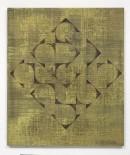 ´HIMMELSRICHTUNGEN VI`, 2014 , pigments, acrylic, canvas, 68 x 57,5 cm