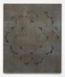 ´HIMMELSRICHTUNGEN VII`, 2014 , pigments, acrylic, canvas, 68 x 57,5 cm