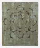 ´HIMMELSRICHTUNGEN VIII`, 2014 , pigments, acrylic, canvas, 68 x 57,5 cm