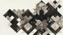 ´la contre flèche II (pour Paul Klee)`, 2016, l`encre du Chine on paper 224g, 24 x 56 cm
