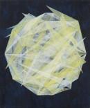 ´Lumière blanche`, 092018, pigments, acrylic on canvas, 60 x 50 cm