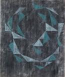 ´Vom Gefühl der Welt IV`, 2017, pigments, acrylic on canvas, 200 x 170 cm