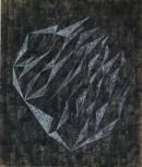 ´Vom Gefühl der Welt V`, 2017, pigments, acrylic on canvas, 200 x 170 cm