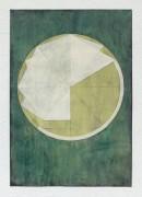 ´LOB DES RAUMES II (für Platon V), 052018, pigments, eggtempera, watercolor, pencil on paper, 48,5 x 33,5 cm
