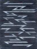 ´la contre flèche I (für Paul Klee)`, 012019, pigments, acrylic on canvas, 60 x 45 cm