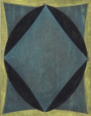 ´GLORIOLE III`, 2019-20, acrylic, pigments on linen, 45 x 35 cm