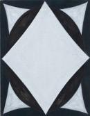 ´GLORIOLE IV`, 160220, acrylic, pigments on linen, 45 x 35 cm