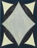 ´GLORIOLE V`, 240220, acrylic, pigments on linen, 45 x 35 cm