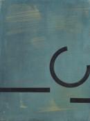 ´Bilder der fliessenden Welt I`, 240320, acrylic, pigments on linen, 60 x 45 cm