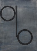 ´Bilder der fliessenden Welt III`, 090520, acrylic, pigments on linen, 60 x 45 cm