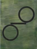 ´Bilder der fliessenden Welt IV`, 260420, acrylic, pigments on linen, 60 x 45 cm