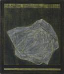 ´KESA VIII`, 2021, pigments, acrylic, pencil, on canvas, 40 x 35,5 cm
