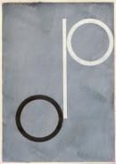 ´Bilder der fließenden Welt 10`, 23042020, pigments, acryl on paper, 29,7 x 21 cm
