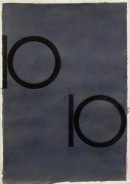 ´Bilder der fließenden Welt 15`, 30042020, pigments, acryl on paper, 29,7 x 21 cm