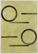 ´Bilder der fließenden Welt 18`, 07052020, pigments, acryl on paper, 29,7 x 21 cm