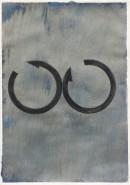 ´Bilder der fliessenden Welt 5`, 11042020, pigments, acryl on paper, 29,7x21 cmDSC08844_1000x