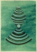 ´Schichten zunehmend dichter werdender Materie III`, 100121, acrylic, pigments, ink, pencil on paper, 29,7 x 21 cm