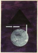 ´MOMENTS II`, 020121, pigments, acrylic, ink, pencil, 29,7x21 cm