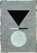 ´MOMENTS III`, 150121, pigments, acrylic, ink, pencil, 29,7x21 cm