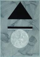 ´MOMENTS IX`, 290121, pigments, acrylic, ink, pencil, 29,7 x 21 cm´MOMENTS IX`, 290121, pigments, acrylic, ink, pencil, 29,7 x 21 cm