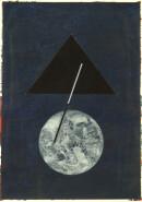 ´MOMENTS V`, 240121, pigments, acrylic, ink, pencil, 29,7 x 21 cm