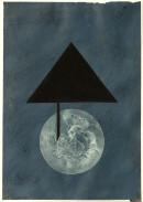 ´MOMENTS VI`, 240121, pigments, acrylic, ink, pencil, 29,7 x 21 cm