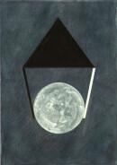 ´MOMENTS VII`, 280121, pigments, acrylic, ink, pencil, 29,7 x 21 cm
