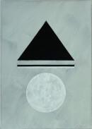 ´MOMENTS VIII`, 290121, pigments, acrylic, ink, pencil, 29,7 x 21 cm